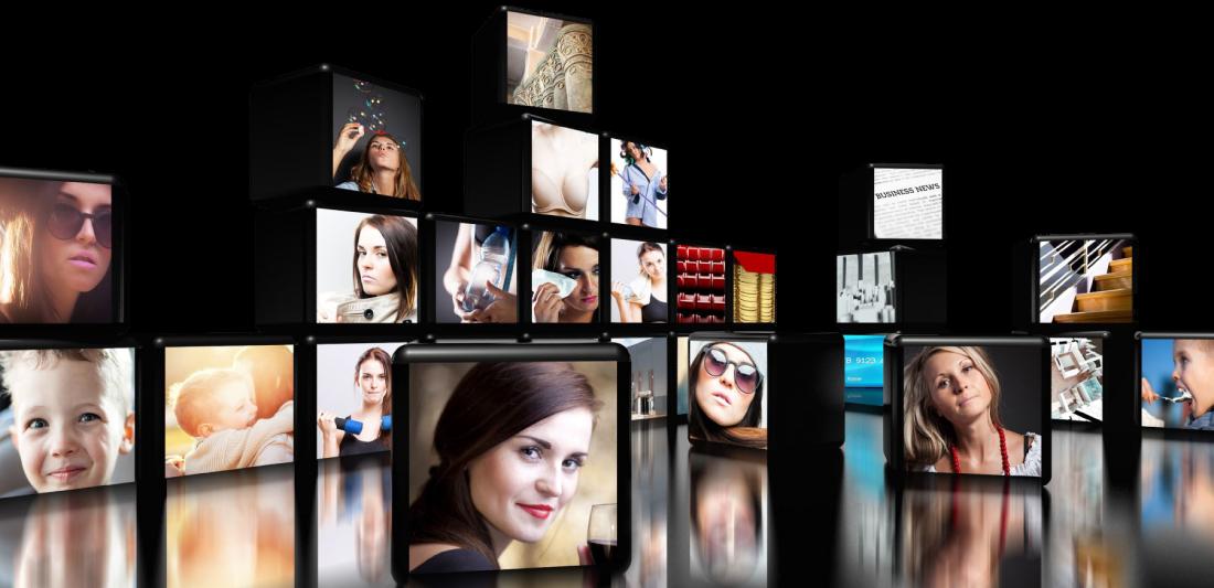 Publicité digitale extérieure - un écran d'affichage dynamique