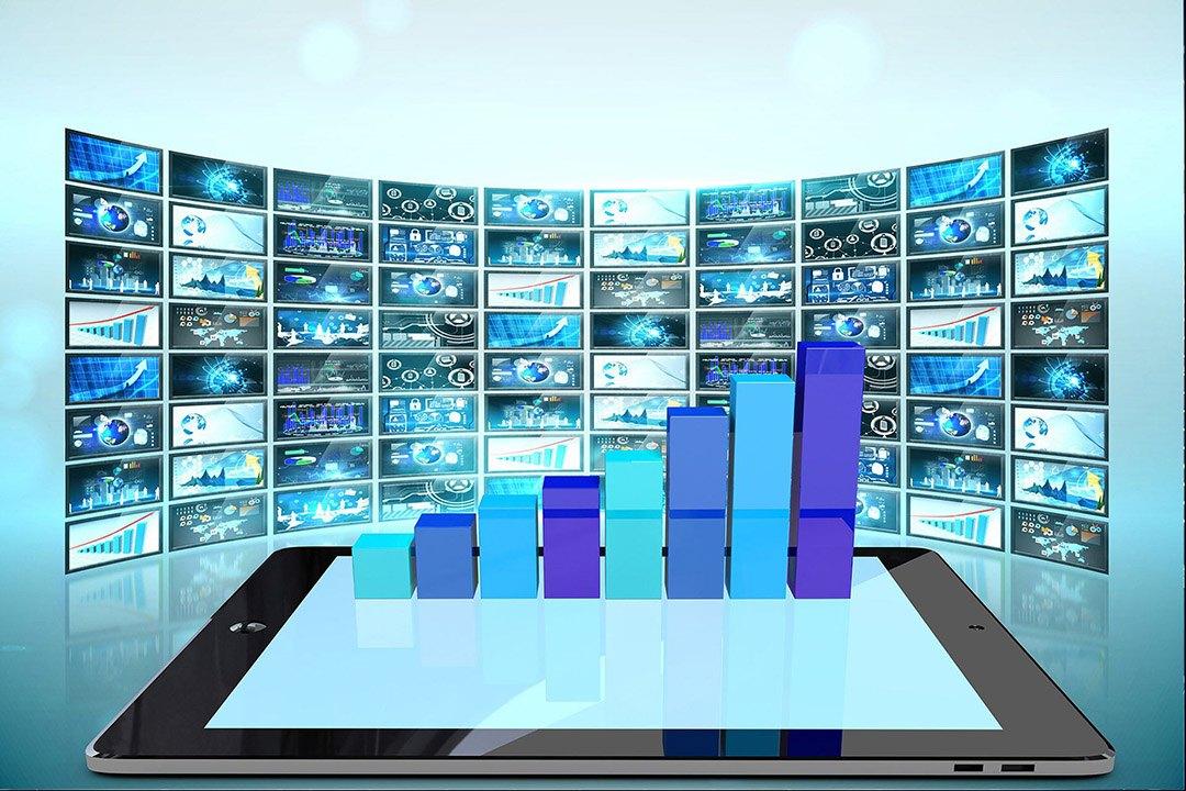 écrans d'affichage dynamique de publicité digitale