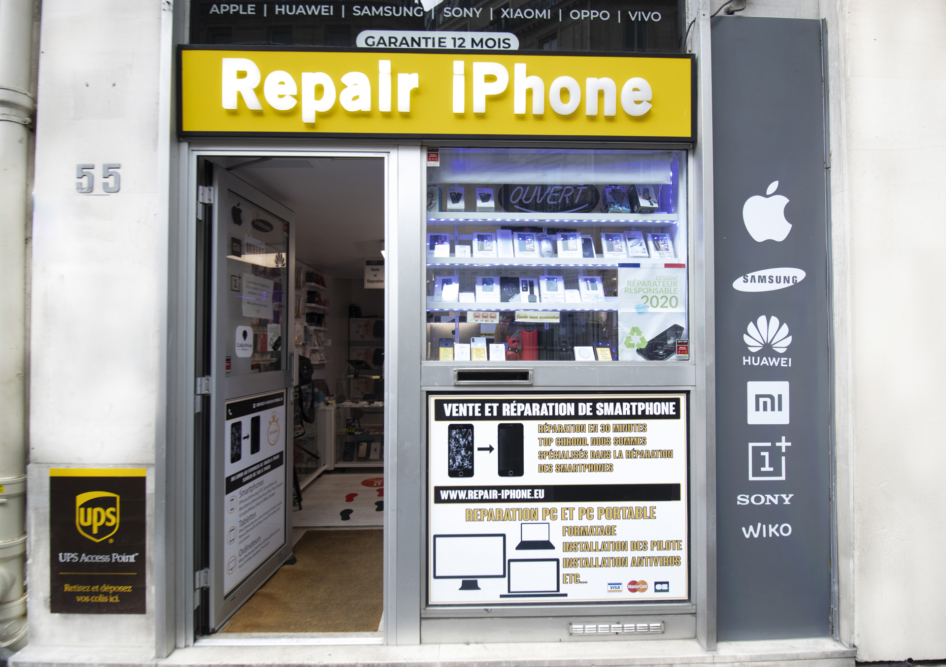 Boutique téléphonie Paris