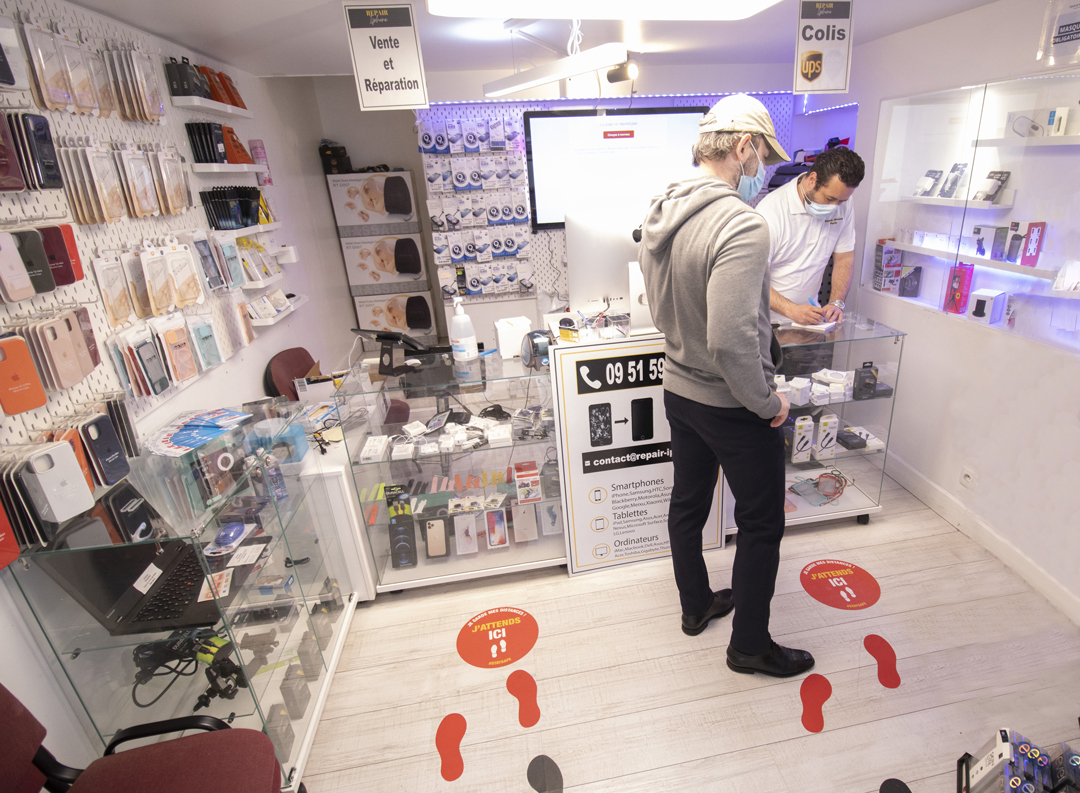 Boutique vente et réparation appareils numériques
