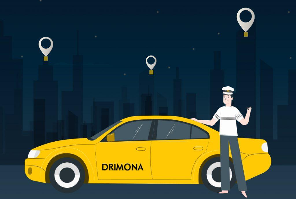plateforme VTC DRIMONA